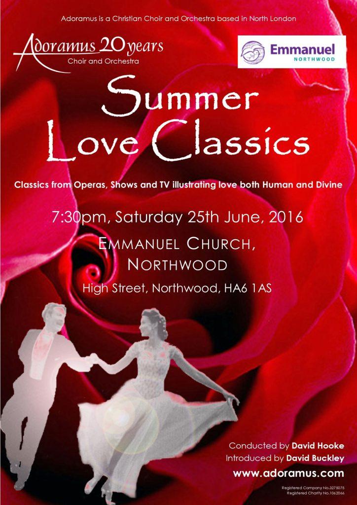 Adoramus Orchestra - Summer Love Classics