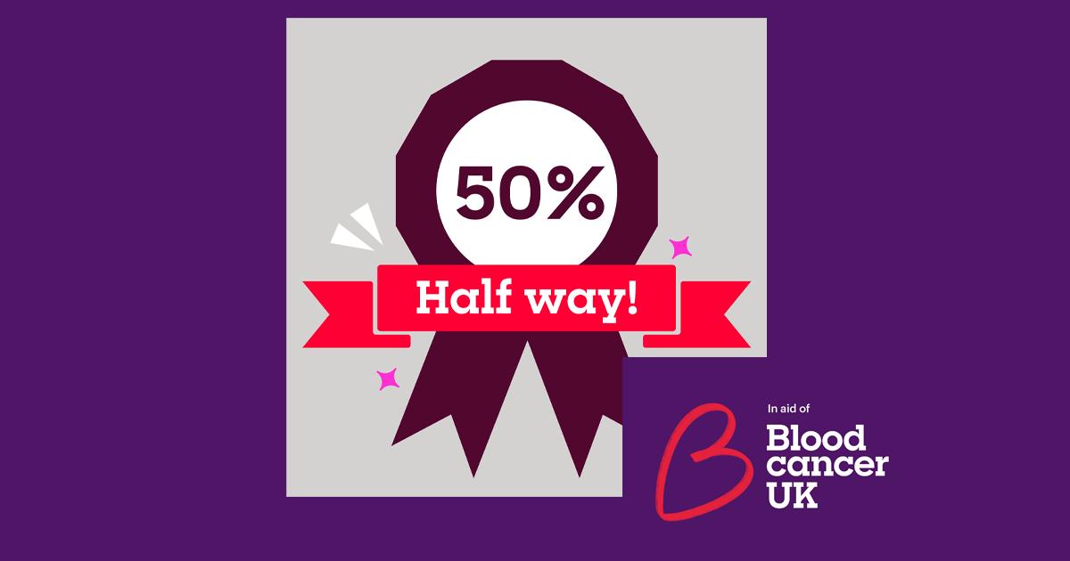 50 in February - Half way